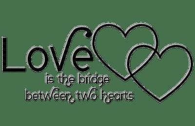 Kathleen Reynolds  Logo Text Love is the bridge between two hearts