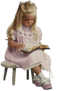 Kaz_Creations Baby Enfant Child Girl Book