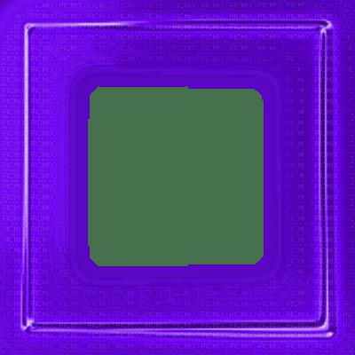 purple glowing neon frame