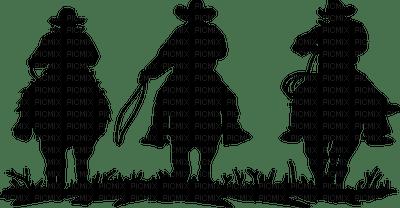 cowboy western  silhouette
