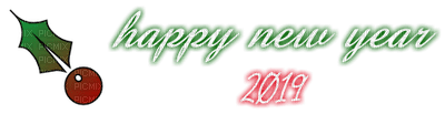 loly33 hAPPY NEW YEAR 2019