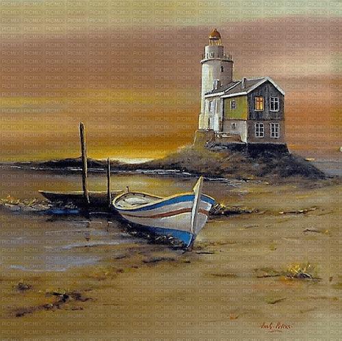beach lighthouse landscape