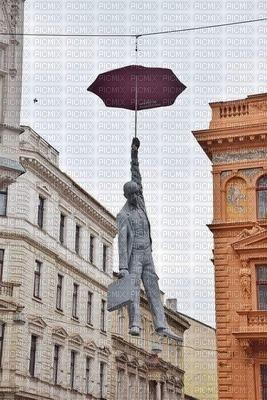 Paraguas volador