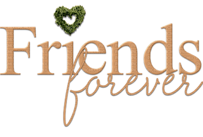 Kaz Creations Text Friends Forever