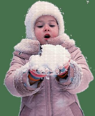 hiver enfant winter child