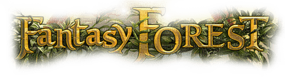 fantasy forest text foret fantaisie