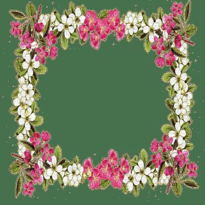 cadre fleurs frame flowers