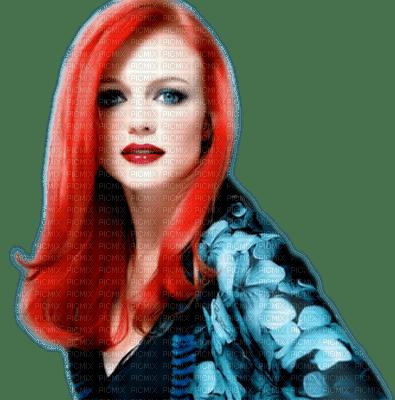 woman red hair  bp