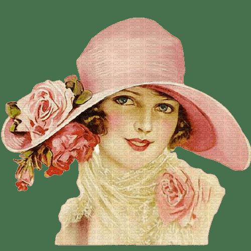 flower,girl,women,femme,rose, painting