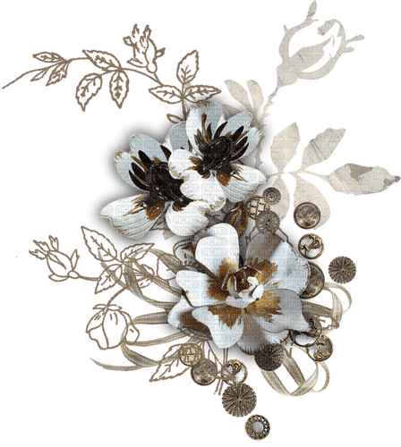 fleur,flower bed, garden, Pelageya