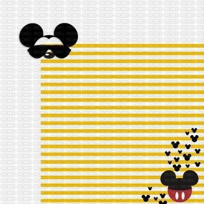 image encre couleur été  anniversaire effet rayures Mickey Disney mariage   edited by me