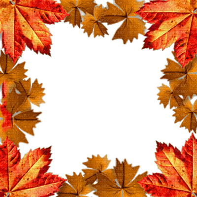 Autumn Frame Automne Autumn Fall Leaves Frames