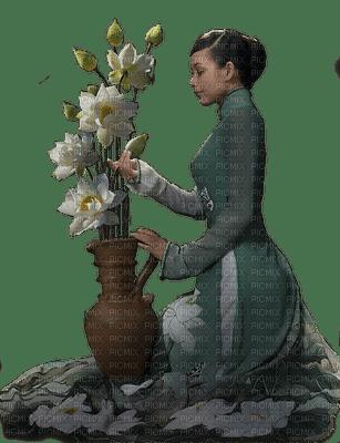 Femme,lotus