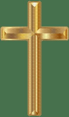 Kaz_Creations Easter Deco Gold Cross