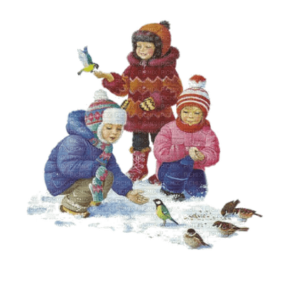 childs snow winter enfant hiver