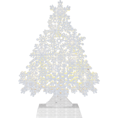 Winter Christmas Tree