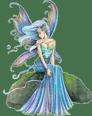 fairy blue fee bleu