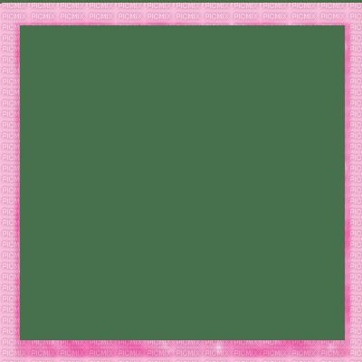Pink Square Frame