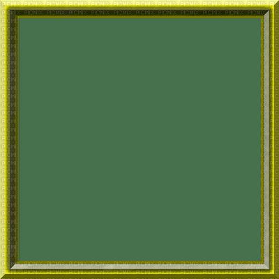 rfa créations - cadre jaune et vert