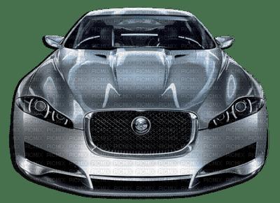 Silver Jaguar XJ Cool Car