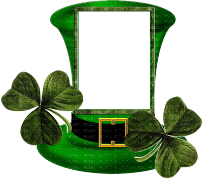 cadre frame adam64  St. Patrick's day gif animation