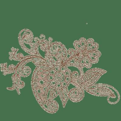 minou-deco-vintage-flower-brown