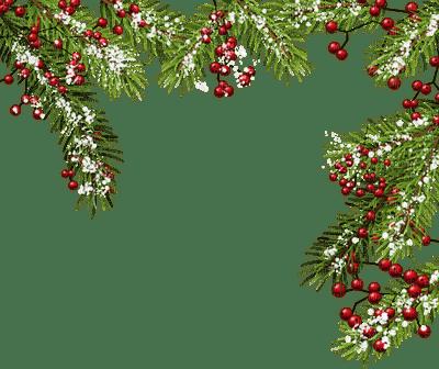 Christmas frame_ branch_Noël cadre branche_tube