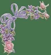 Corner, Border, Borders, Frame, Frames, Flower, Flowers, Bow, Bows, Pink, Purple, Deco, Decoration - Jitter.Bug.Girl