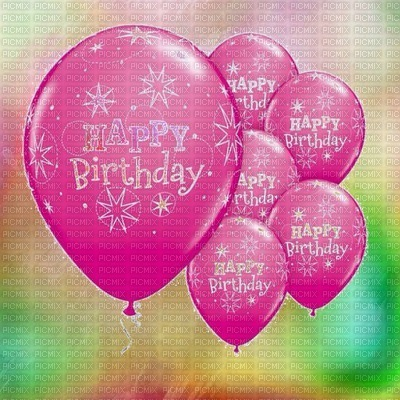 image encre color happy birthday balloons edited by me