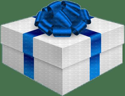 Kaz_Creations Gift Box Birthday Ribbons Bows  Occasion Blue