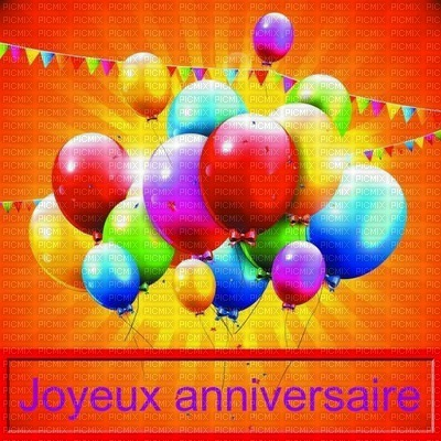 image encre color joyeux anniversaire ballons edited by me