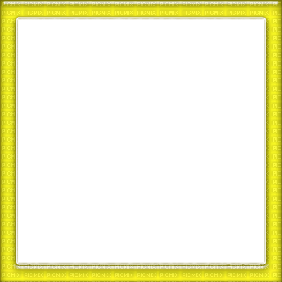 Yellow Square Frame