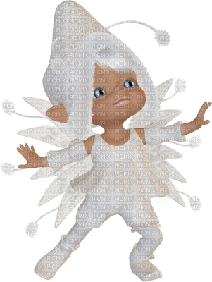 snow elf,  lutin des neiges, hómanó