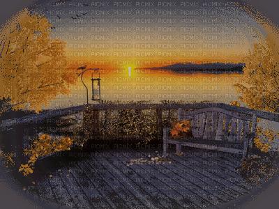Terrace Sunset-Terrazza Tramonto-Terrasse Coucher-terass-solnedgång-landskap-minou