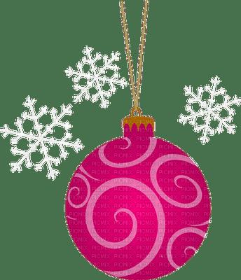 Kaz_Creations Pink Christmas Deco