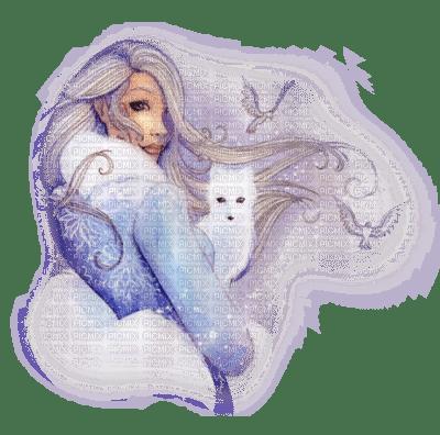 Cecily Dessin Femme Renard Blanc Picmix