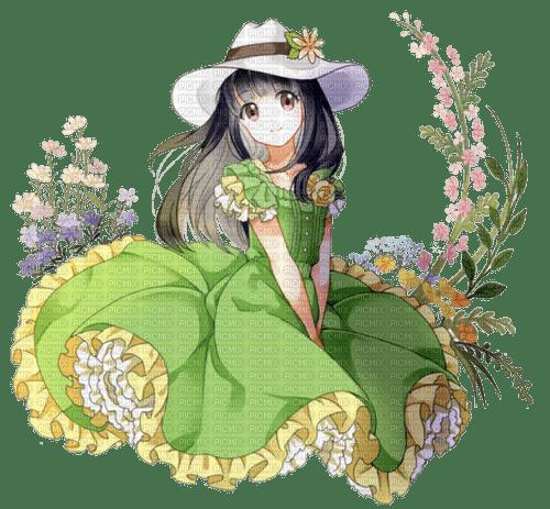 fille,manga,deko,tube,spring, Pelageya