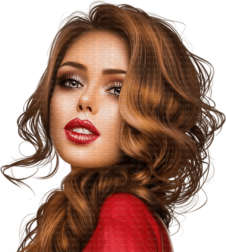 Femme rouge-Woman red