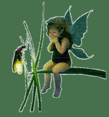 fairy  child green fee enfant vert