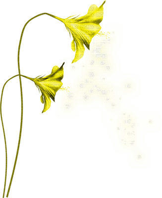 yellow flower fantasy jaune fleur