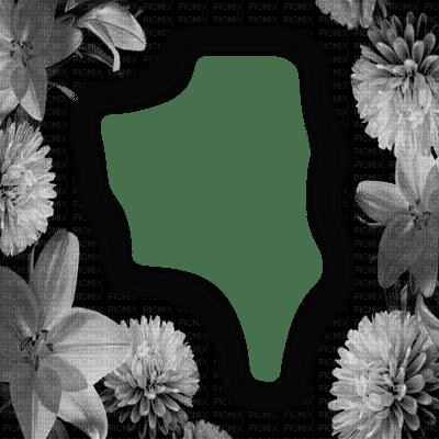 cadre frame fleur