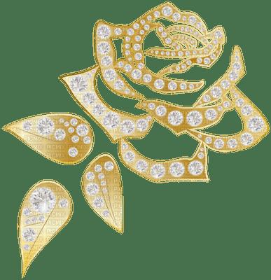 Kaz_Creations Deco  Gold Flower