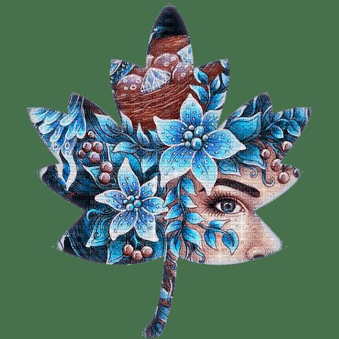 dekoracyjny liść