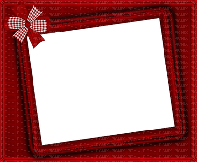 Noël cadre rouge_Christmas frame Red_red_tube