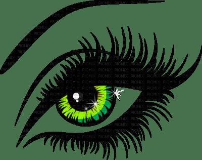 cecily-oeil vert