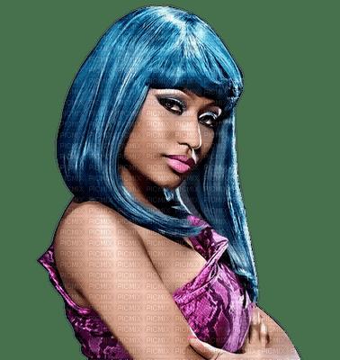woman blue hair bp