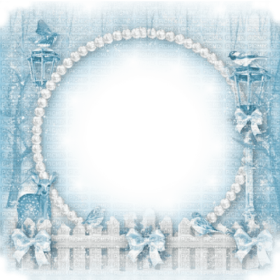 winter hiver frame cadre snow neige blue