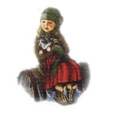 enfant hiver child winter