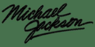 Kaz_Creations Logo  Text Michael Jackson