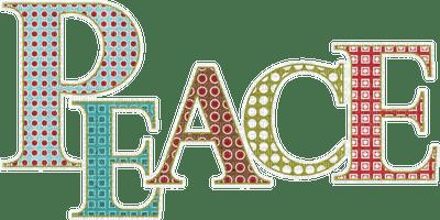 Kathleen Reynolds  Logo Text Peace